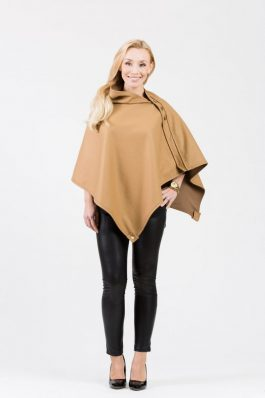 LISA Original Cape – Camel wool